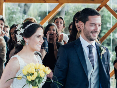 Maria Paula y Jorge: un matrimonio con estilo propio