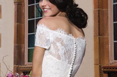 Bruidsjurken Sincerity Bridal 2015: vrouwelijk en elegant!