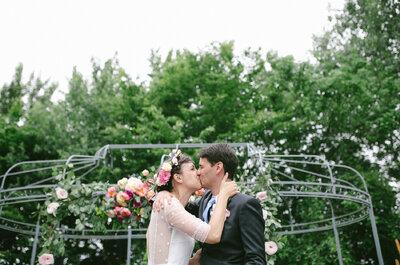 Anne-Sophie & Grégoire : une rencontre lors d'un mariage qui se termine... en mariage pétillant!