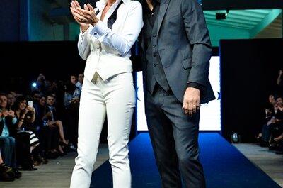 Adriane Galisteu e outras celebridades brilham com trajes incríveis: desfile da Camargo Alfaiataria no Bride Style 2014