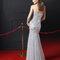 Hochzeitsgastkleid aus der Festmodenkollektion 2015 von Rosa Clará (8T211)