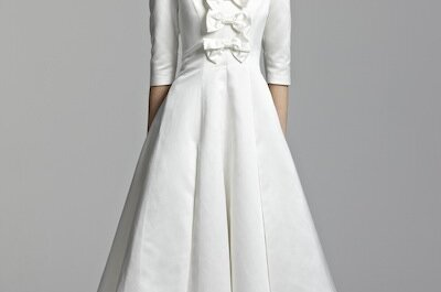Short wedding dresses from Tobi Hannah for Spring 2012