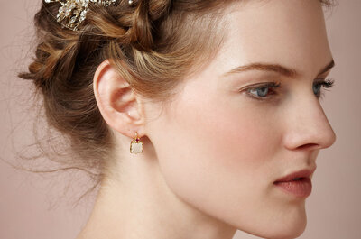 Натуральный свадебный макияж - самая нежная невеста 2015