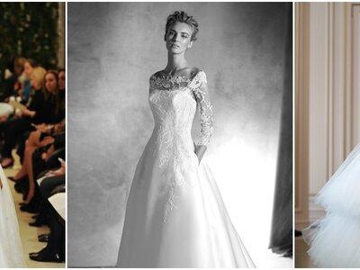 Vestidos de noiva 2016: TODAS as tendências!