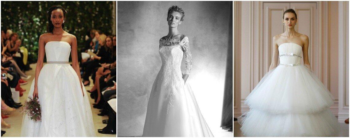 Vestidos de noiva 2016: descubram as tendências!