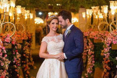 Casamento clássico de Isabela e André: romantismo cor-de-rosa no Copacabana Palace!