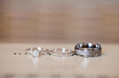 5 anillos de compromiso para un estilo propio. ¡Conquístala!