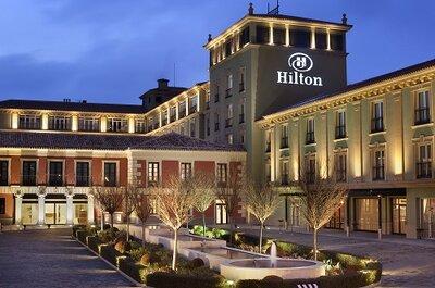 Hilton Buenavista Toledo: Celebrar tu boda en un hotel palaciego de ensueño