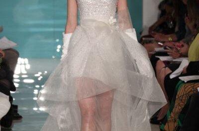 Reem Acra Wedding Dresses Spring 2013: Contemporary Sweetness & Sass
