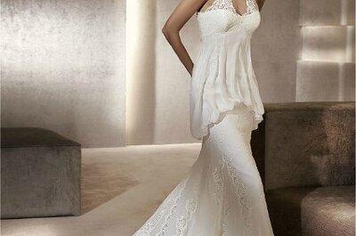 7 vestidos de novia para embarazadas, consigue estar estupenda incluso con tripita