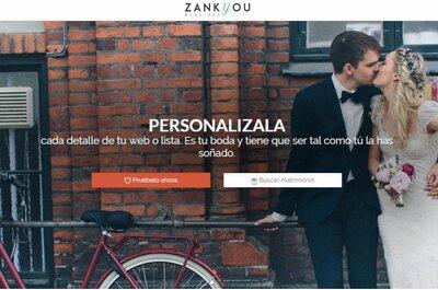 Diseña tu web de boda y tu lista de regalos online como más te guste