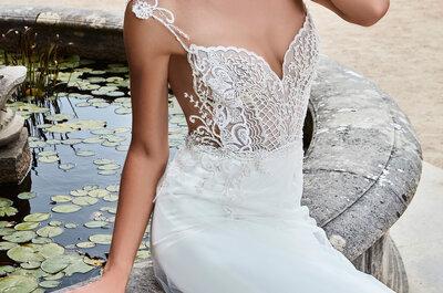 El encaje más sensual: descubre los vestidos de novia Games of Lace de Solo Merav 2017