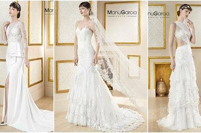 Manu García Costura: cuando la feminidad y la elegancia se convierten en vestidos de novia