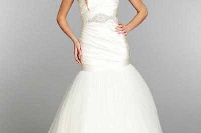 Suknie ślubne z paskiem