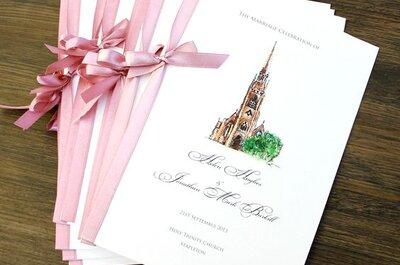 Libretti per la messa del matrimonio: tante idee per personalizzarli