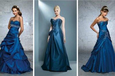Idee per matrimonio in blu