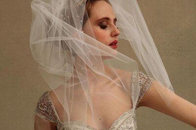 Velos para novia en tendencia en 2014