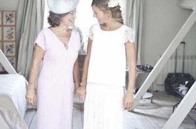 Vestidos de fiesta perfectos para la madre de la novia
