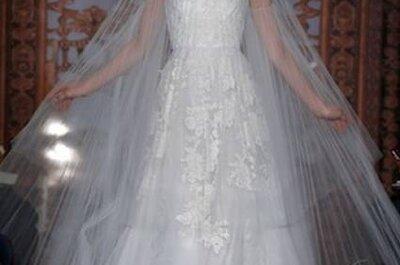Vestidos de noiva Reem Acra coleção Outono 2013