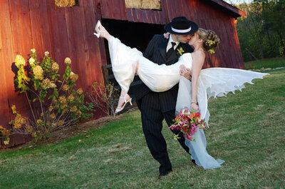Matrimonios en Halloween: Chic y tenebroso