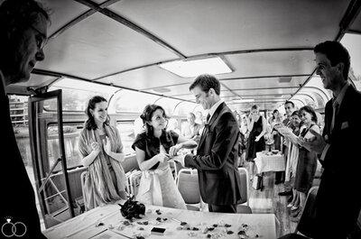 Jawort auf der Alster - die Hochzeit von Sepideh und Michael in Hamburg