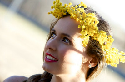 Accesorios de novias e invitadas para una boda country