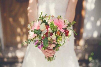 Cómo elegir el bouquet de novia perfecto