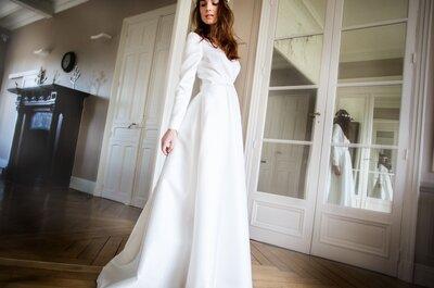 Au Fil d'Elise 2016 : Des robes de mariée au style vintage délicat