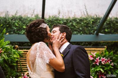 Mano e Sergi: casamento lindo, colorido e criativo no Rio de Janeiro