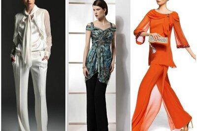 Trends für Hochzeitsgäste: Outfits mit Hosen!