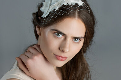 Discover Bridal Hair Accesories with Cappellino Millinery