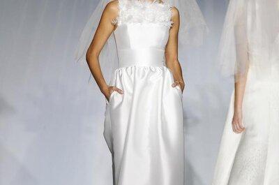 Vestidos de novia elegantes Patricia Avendaño 2013