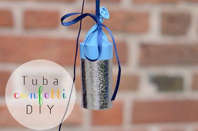 Niezwykłe confetti! DIY! Najlepszy sposób aby powitać Parę Młodą przed Kościołem