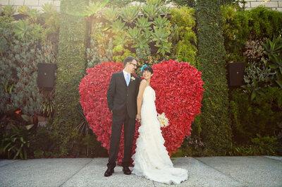Rote Hochzeitsdekoration - Trend 2013