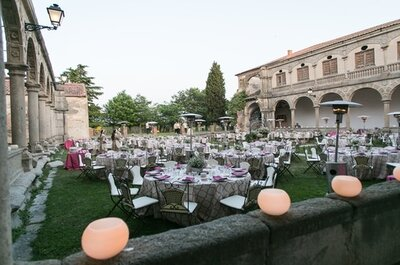 Abadía de Párraces, un marco incomparable en plena naturaleza