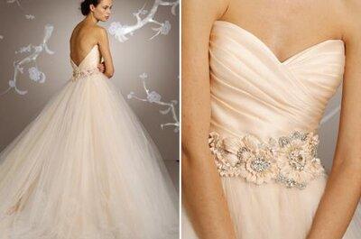 Encontrá el vestido de novia de color que más te identifique