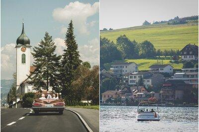 Un matrimonio de la vida real en los maravillosos paisajes de Suiza ¡inspírate!