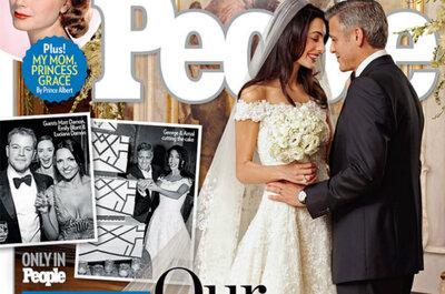 Todos los detalles del vestido de novia de Amal Alamuddin