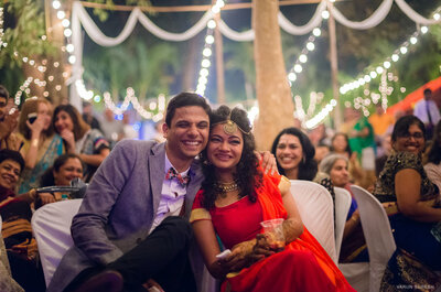 Fabulous Real Wedding of Adithi and Varun: The one with the touch of nature
