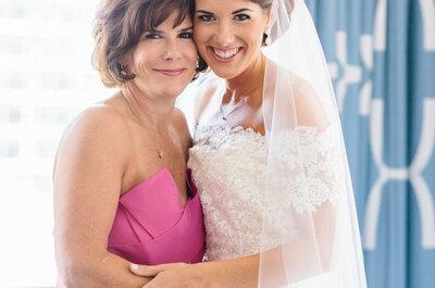 8 formas en las que puedes incluir a tu suegra en la organización de tu boda