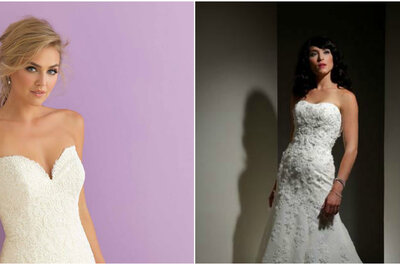 ¿Cómo elegir el tipo de escote de mi vestido de novia?