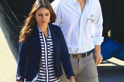 Ashton Kutcher and Mila Kuniss' 2015 Secret garden soiree wedding