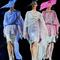 Colori pastello per Giorgio Armani MFW. Foto via Instagram