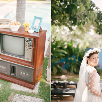 Un real wedding DIY con ispirazione indie