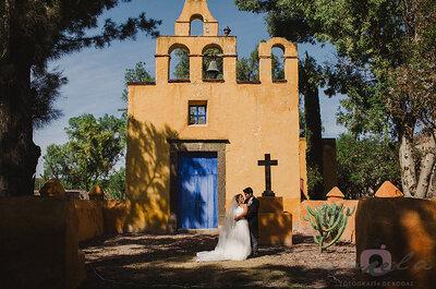 Real Wedding: La boda de Mercedes y Edmon en Hacienda Puerto de Sosa con un vestido de novia Rosa Clará