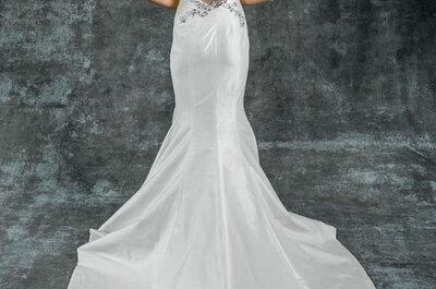 Isabelle Armstrong 2015: Vestidos de novia con siluetas femeninas y un toque de coquetería