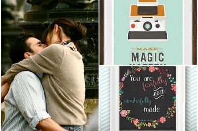 10 Liebesbotschaften für Ihre Hochzeitsdeko