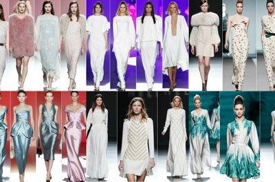 Los vestidos blancos de la Fashion Week Madrid