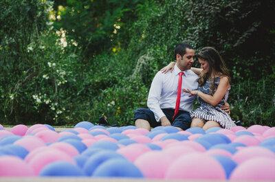 Colores Pantone para decorar tu matrimonio: rosa cuarzo y azul serenity