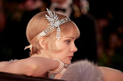 Look de novia inspirado en la película